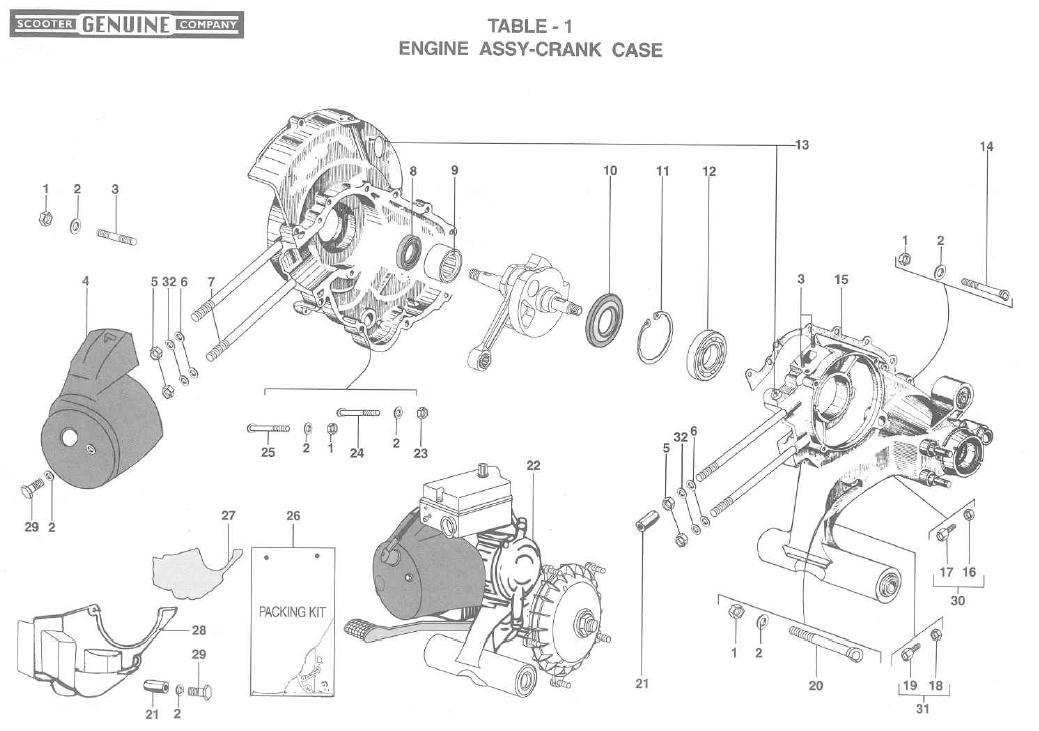 Stella Engine Crank Case