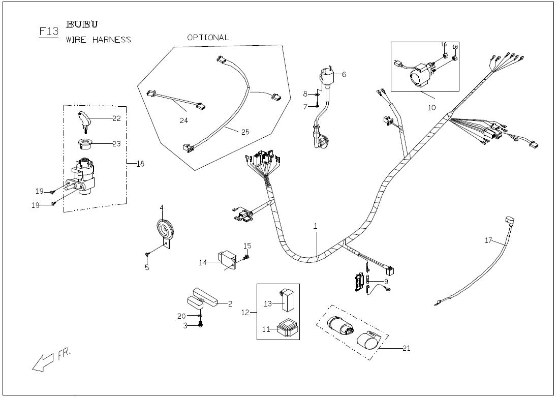 Buddy Scooter Wiring Diagram