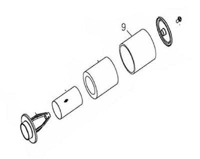 Luftfilterelement B (äußerer Luftfilter) Adly/Her Chee 280