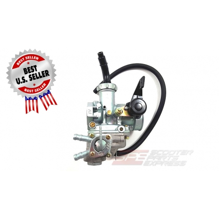 Carburetor 22mm PZ22 Left Manual Choke Horizontal 4 Stroke