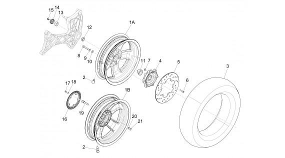 Fourche, suspension, roues et freins