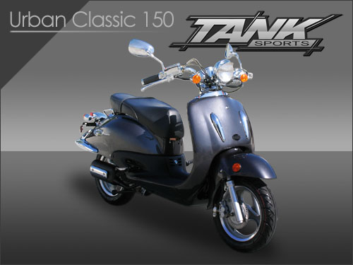 Tank Urban Classic 150cc Scooters On Tank 50cc Scooter Motor Diagram