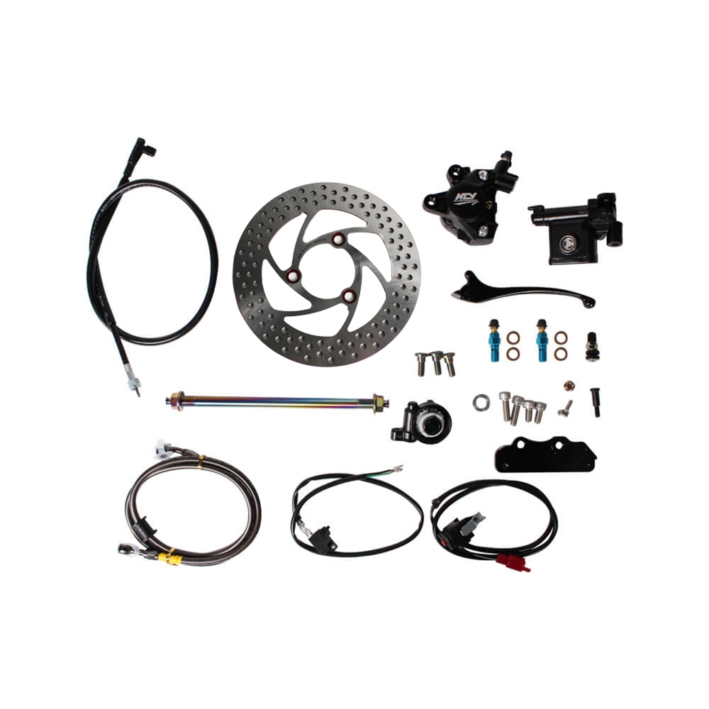 NCY Front End Brake Conversion Kit, Honda Ruckus