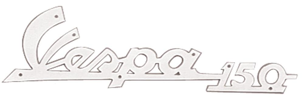 Vespa 150 Script Legshield Emblem; VBB Scooterworks USA