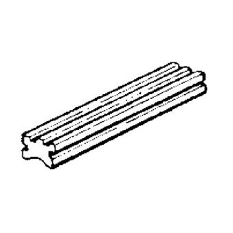 Floorboard Rubber; V9A1, V5A1, VMA, VBC, VNC Scooterworks USA