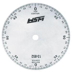 Degree Wheel  Clear Plastic Scooterworks USA