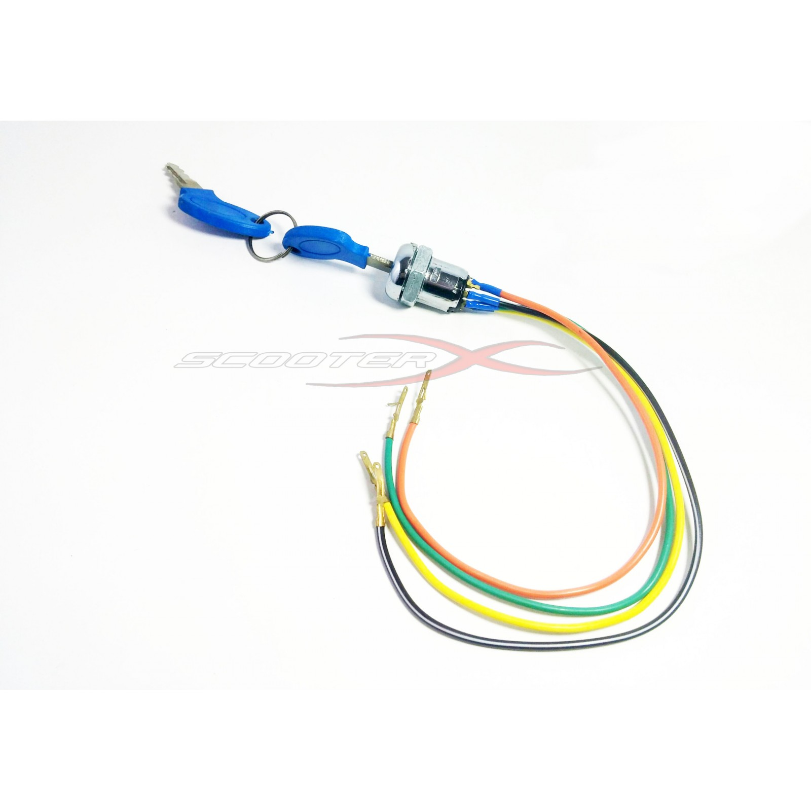 hight resolution of  ignition 4 wire a blue
