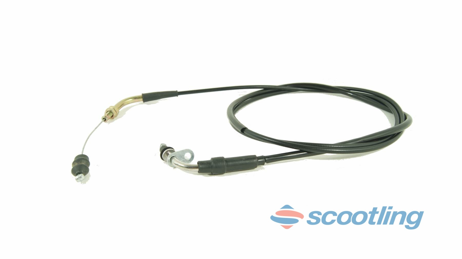 Throttle cable Chinese 4T 50-125 190cm plate type