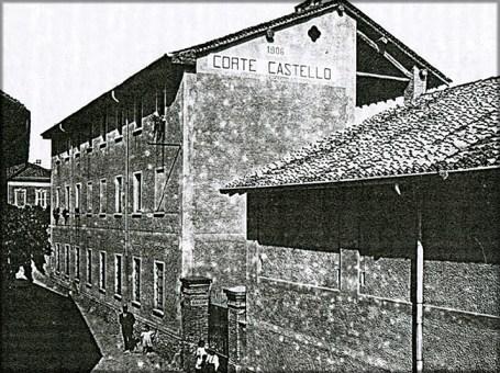 corte castello antica