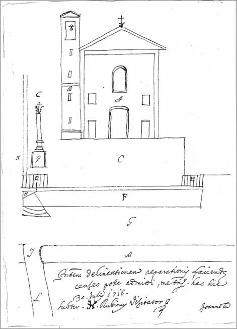 disegno chiesa