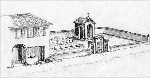 ricostruzione cimitero