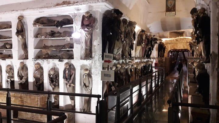 La cripta dei cappuccini di Palermo