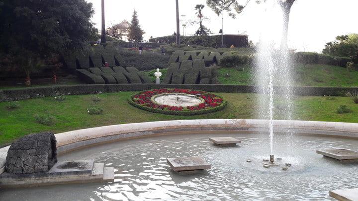 la fontana di villa bellini a catania