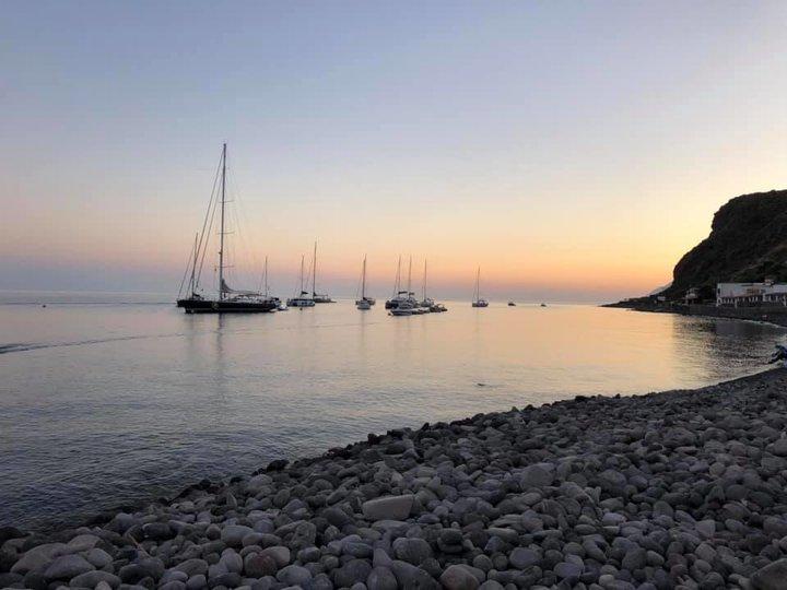 spiaggia di Pecorini a Mare a Filicudi