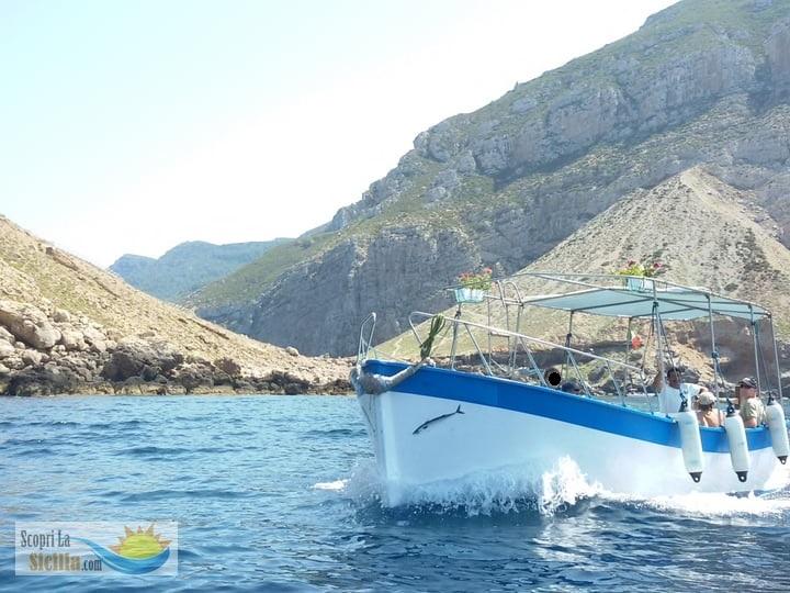 tour di Marettimo, barca dei pescatori
