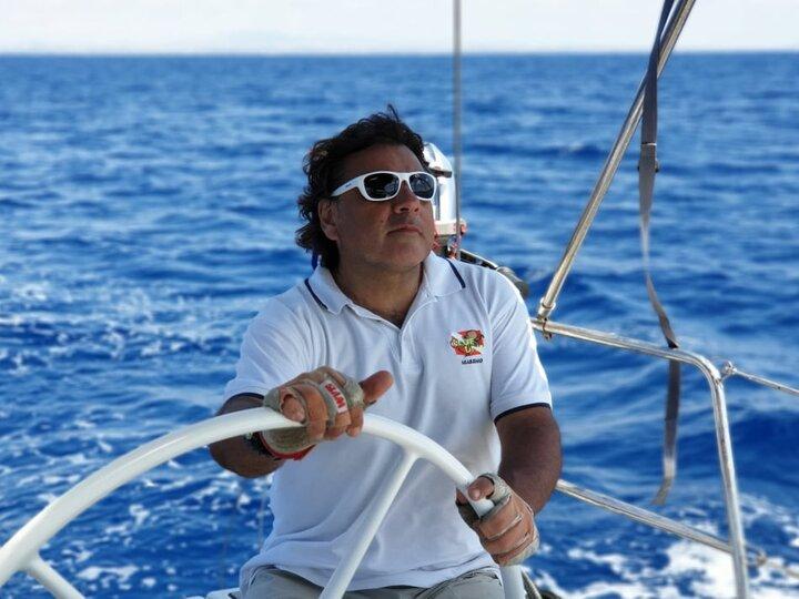 skipper siciliano Massimo Pizzuto