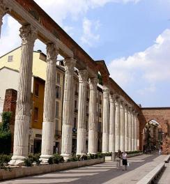 le colonne di S.Lorenzo