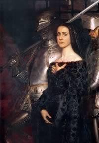 Caterina Sforza prigioniera