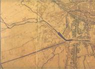 particolare mappa di Milano dopo il 1870 - Zona Navigli
