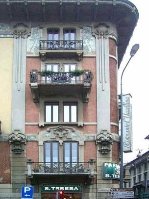 casa Lauger, corso Magenta