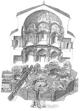 Battistero di S.Giovanni alle Fonti - ricostruzione