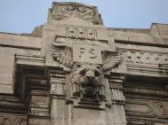 Stazione Centrale - particolare della facciata