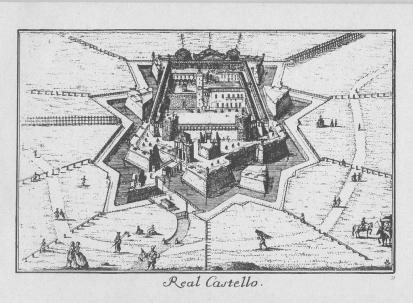 Castello di Porta Giovia in una veduta settecentesca