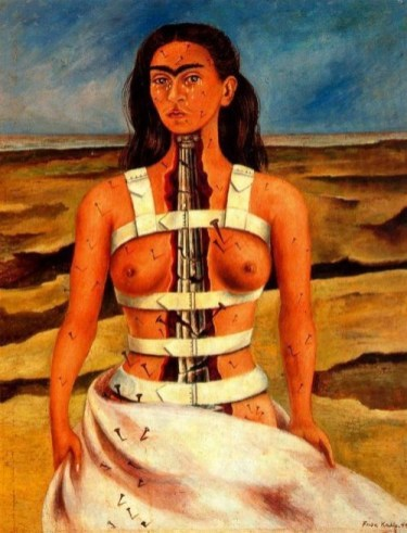 Frida Kahlo - The broken column