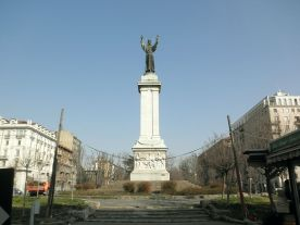 monumento a S.Francesco, piazza Risorgimento