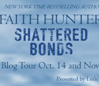 Faith Hunter's Shattered Bonds Blog Tour (Includes giveaway and excerpt)