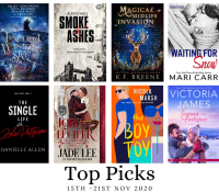 New Romance Book Release Post : Top Picks from Nix (15th Nov)