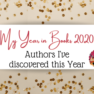 My Year in Books : Authors I have discovered in 2020