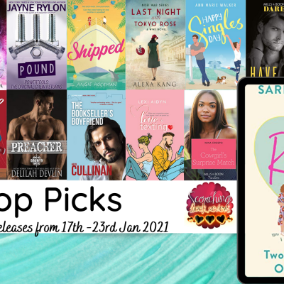 New Romance post : Top Picks of the books released 17th – 24th Jan 2020