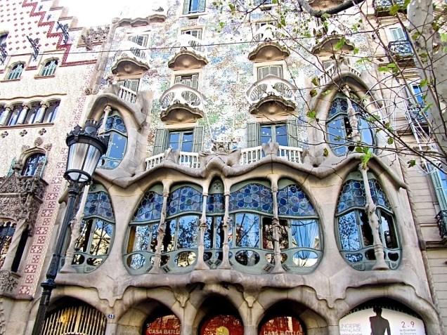 Casa Batllò - Barcellona (Spagna)