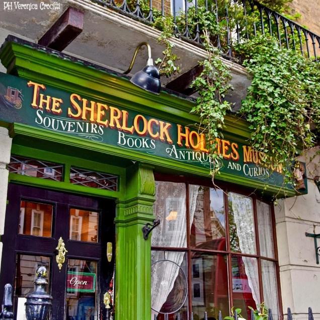 Casa Museo Sherlock Holme's, Baker Street. Londra (Inghilterra)-min