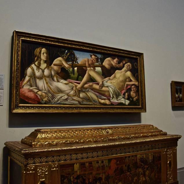 """Bacco e Arianna"" di Tiziano - National Gallery (Londra - Inghilterra)"