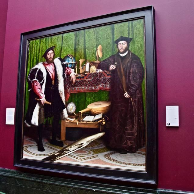 """""""Gli Ambasciatori"""" di Hans Holbein il Giovane - National Gallery (Londra - Inghilterra)"""