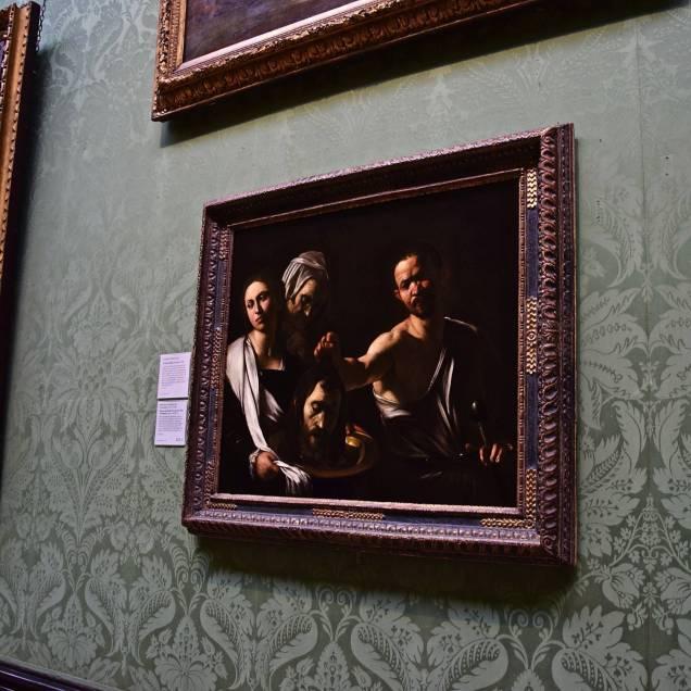 """""""Salomè con la testa del Battista"""" di Caravaggio - National Gallery (Londra - Inghilterra)"""