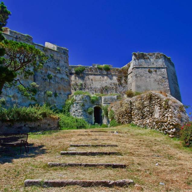 Ingresso Secondario Castello di Milazzo (Messina - Sicilia)