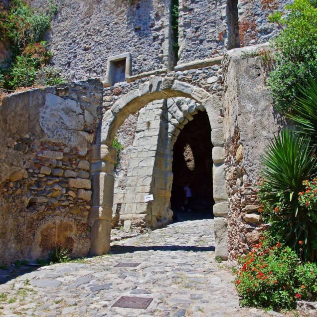Ingresso Castello di Milazzo (Messina - Sicilia)