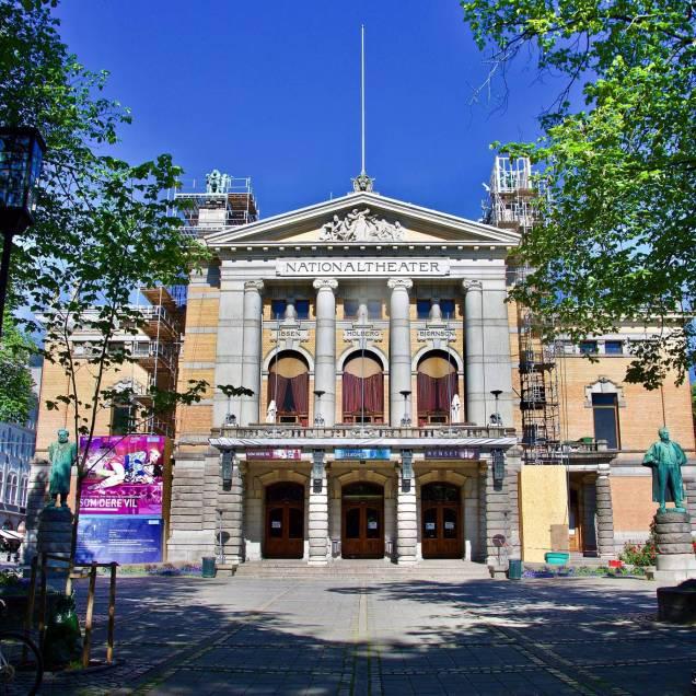 Nationaltheatret (Teatro Nazionale) - Oslo, Norvegia