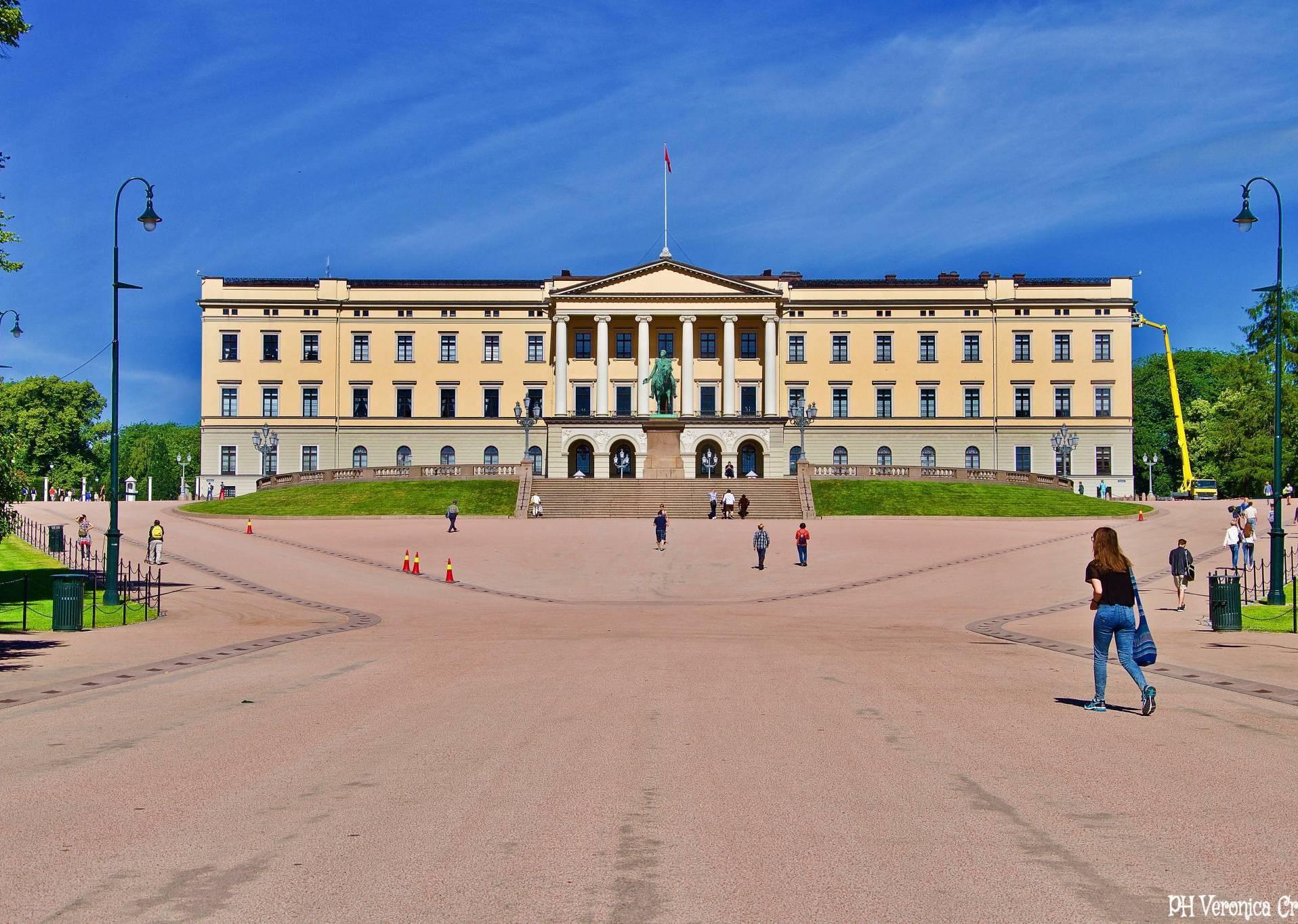 Palazzo Reale di Oslo - Norvegia