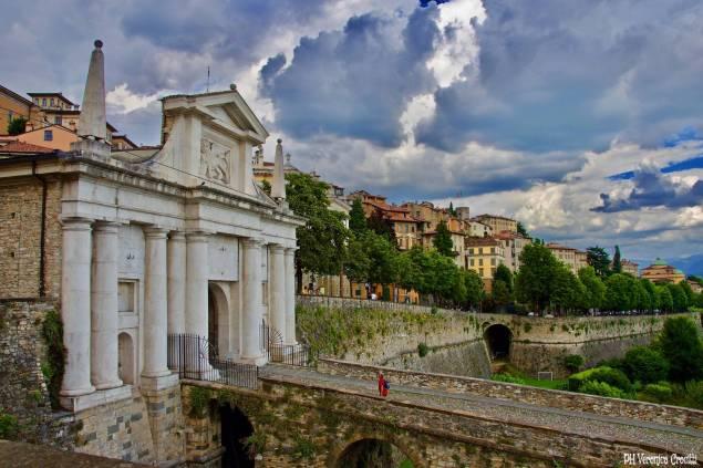 Porta San Giacomo, Bergamo Alta (Lombardia - Italia)