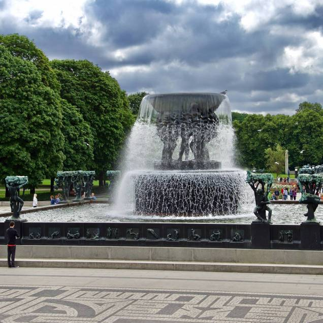 Parco di Vigeland - Oslo, Norvegia