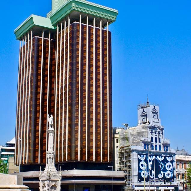 Plaza Colón - Madrid, Spagna