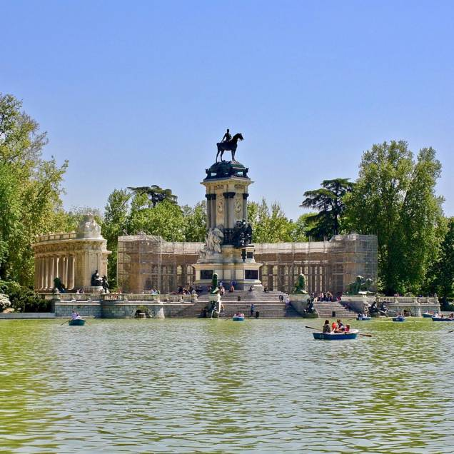 Parque de El Ritiro - Madrid, Spagna