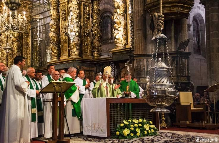 Cattedrale (Botafumeiro) - Santiago di Compostela (Spagna)