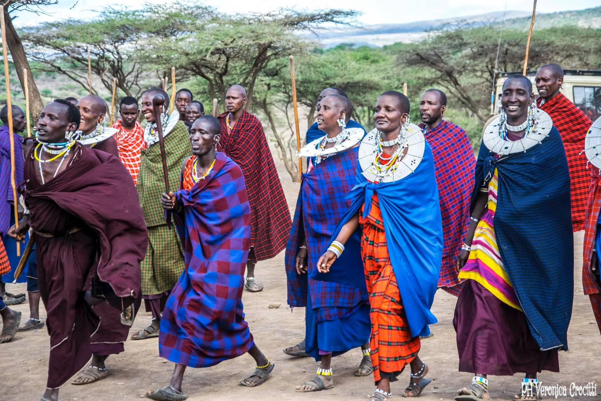 Matrimonio del popolo Masai