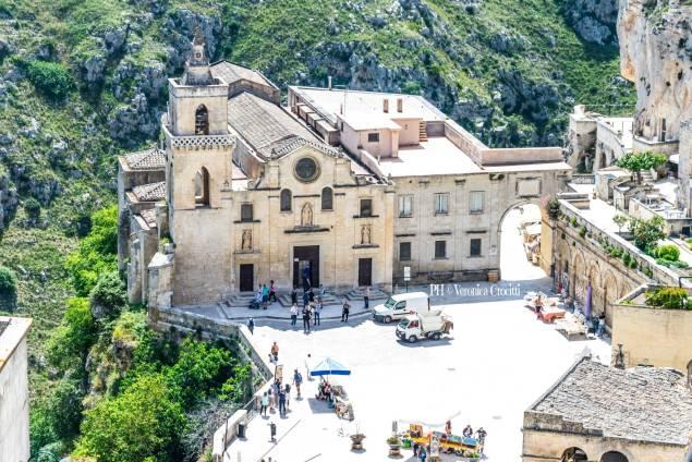 Chiesa San Pietro Caveoso. Matera, Città dei Sassi (Basilicata - Italia)