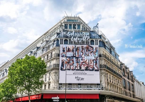 Gallerie La Fayette - Parigi, Francia